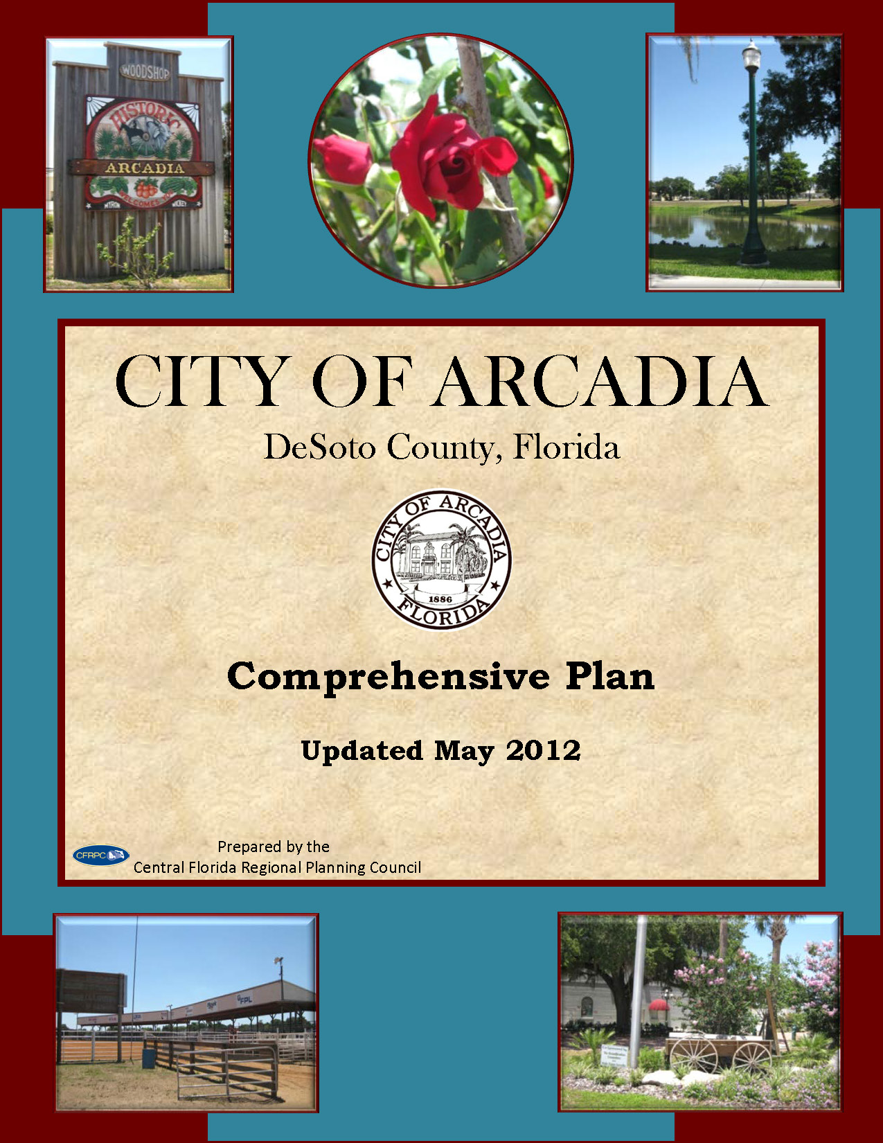 City of Arcadia - Comprehensive Plan - Cover