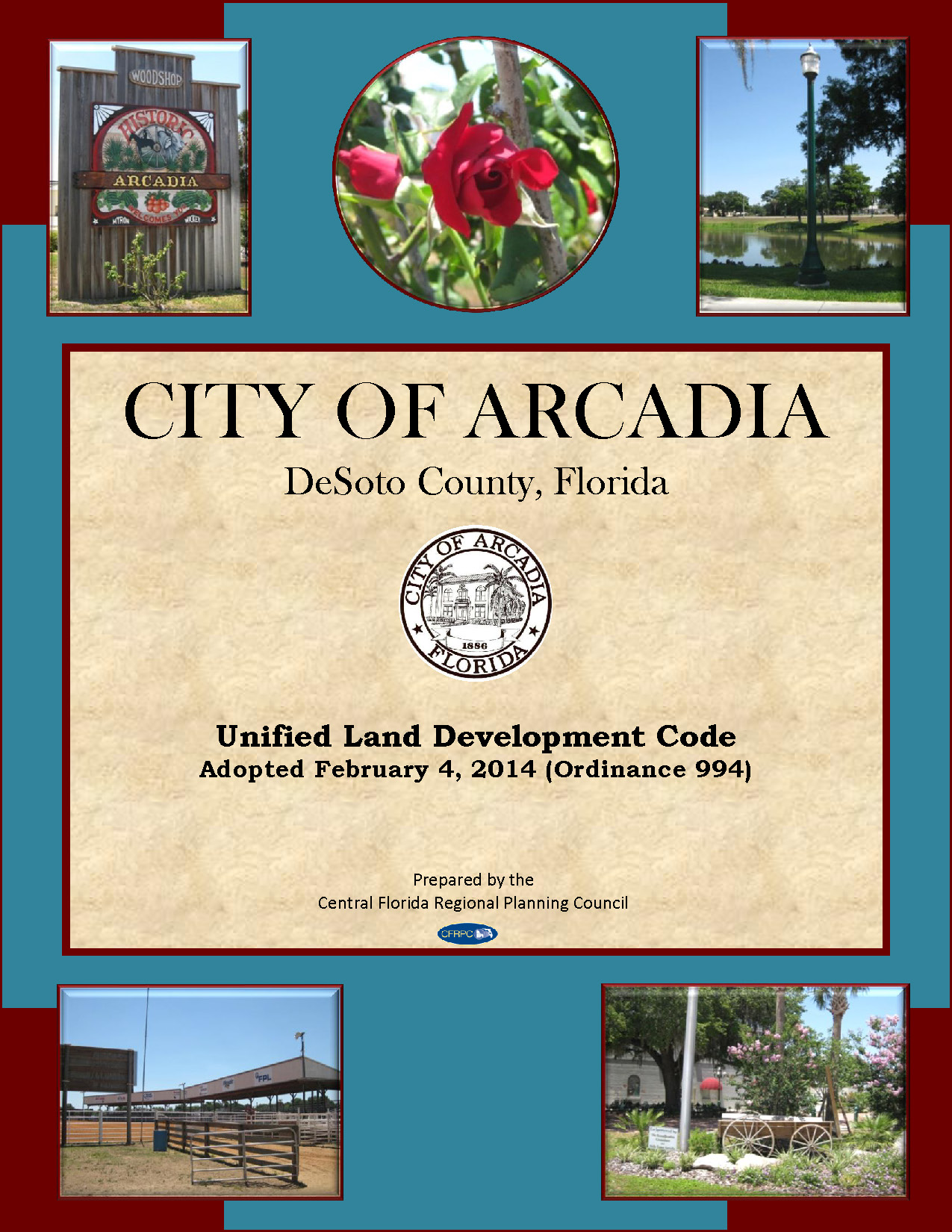 City of Arcadia - Unified Land Development Code - Cover