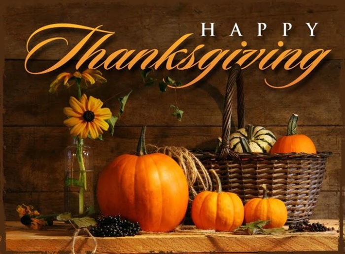 City Offices Will Be Closed In Observance Of Thanksgiving