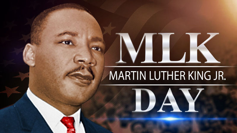 City Offices Will Be Closed In Observance Of Martin Luther King Jr. Day