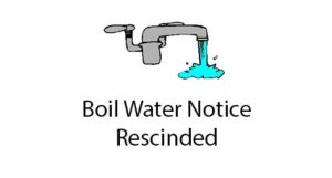 THE CITY OF ARCADIA PRECAUTIONARY BOIL WATER NOTICE HAS BEEN RESCINDED -1/17/2021