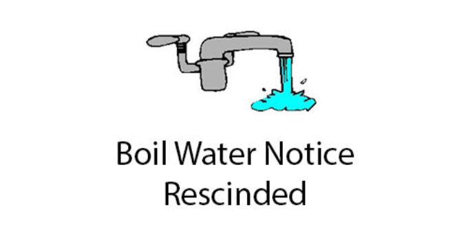 THE CITY OF ARCADIA PRECAUTIONARY BOIL WATER NOTICE HAS BEEN RESCINDED -4/8/2021