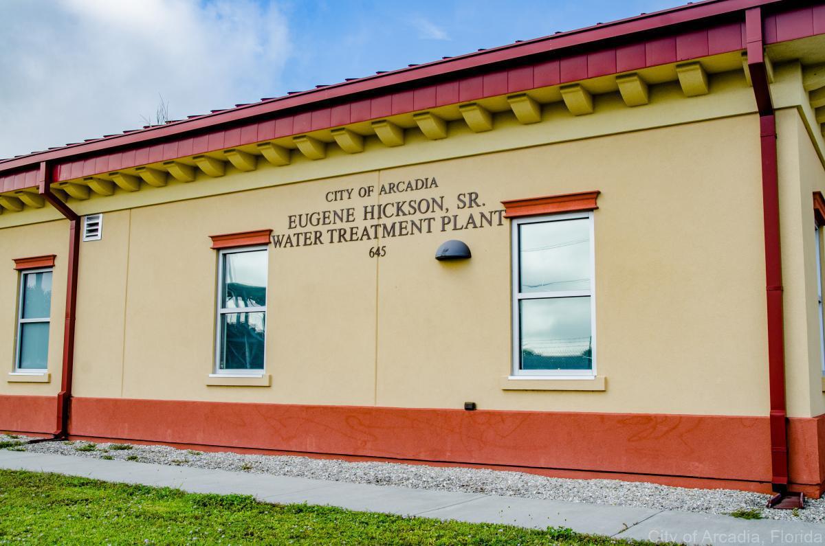 City of Arcadia Eugene Hickman, SR. Water Treatment Plant 645